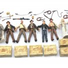Gift 8pcs Indiana Jones WILLIE SCOTT TEMPLE GUARD OF DOOM Short Round Figure Toy