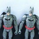 2PCS DC COMICS BATMAN SUPER HEROES THE DARK KNIGHT RISES ACTION FIGURES QA115
