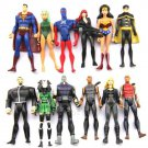Collection 12 Pcs DC COMICS YOUNG JUSTICE Figure Toys Heroes For Children Gift