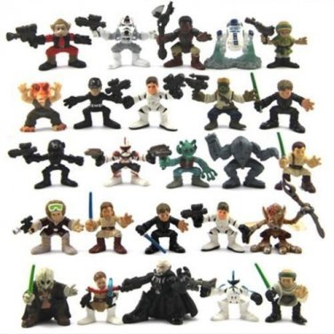 Lot 10 Star Wars Galactic Heroes Trooper Droids Action FIGURE Clone Hot Toy Gift