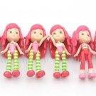 Toys 6 x Strawberry Shortcake 2008 Dolls Figures 3in. Girls Kids Baby Xmas Gifts