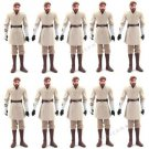 Lot 10pcs STAR WARS Obi-Wan Kenobi Movie Toy action figures 2010 Collection L06