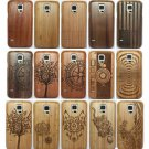 For Samsung Galaxy S5 i9600/S5 Neo/S5 Mini Natural Wood Bamboo Case Cover
