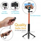 Selfie Stick Monopod+Tripod+Bluetooth Shutter For iPhone 8 Plus 6s 6 Plus 5 5c