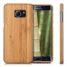 Natural Authentic Wood Bamboo Hard Case Back Cover for Samsung Galaxy S7 Edge S8