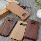 Natural Pure Bamboo wood Cover Back Case+Film For Samsung Galaxy S8/S8+ Plus/S7