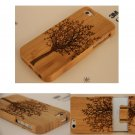 Original Tree Carved Natural Bamboo Wood Wooden Case Cover For iPhone 7 Samsung