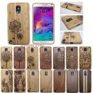 Natural Wood Bamboo Hard Case Cover for Samsung Galaxy Note 5/4/3/S7/S7 Edge/S8