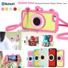Bluetooth Camera Selfie Remote Shutter Release Case for Samsung Galaxy S6 Note 4
