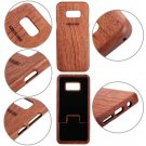 Natural Carved Bamboo Wood Case Combo Cover For Samsung Galaxy S7/S8/S8+ Plus