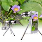 18X Zoom Telescope Camera Lens+Phone Holder For Samsung Galaxy S8 Plus iPhone 8