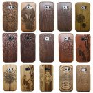Genuine Bamboo Wood Hard Back Case Cover For Samsung Galaxy S8 S7 Edge Note 5