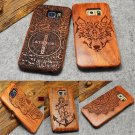 Original Wood Bamboo Phone Case For Samsung Galaxy S5 S6 Edge Plus Note 5 Cover