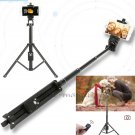 Zoom Bluetooth Selfie Stick Monopod Table Tripod for Samsung Galaxy S7 Edge/S8