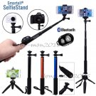 Self-Portrait Timer Monopod+Tripod+Bluetooth Remote For iPhone 7 6s Plus SE 5 5S