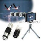 16x Telescope Camera Lens+60x-220x Microscope For iPhone 8 8 Plus 7 6s 6 5S SE