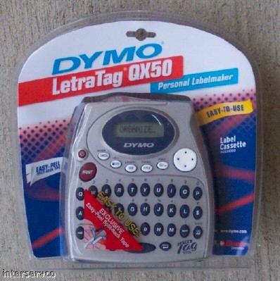 DYMO ELECTRONIC LABELMAKER LETRATAG QX50