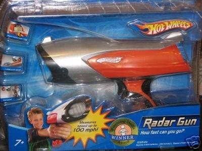 HOT WHEELS .. Radar Gun .. How fast can you go? 100mph?