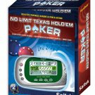 No Limit Texas Hold'em Poker Hand Held Game SAITEK