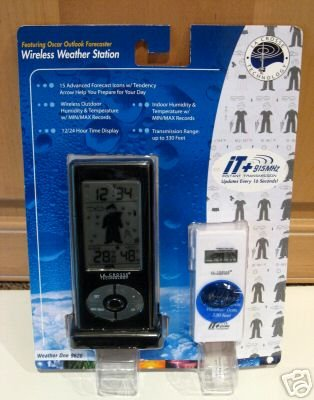 La Crosse Technology Wireless Weather Station, Weather One: 9620 with Oscar Outlook Forecaster