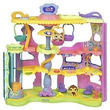Littlest Pet Shop Round & Round Pet Town Playset
