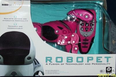 Robopet Robodog pink puppy Remote control