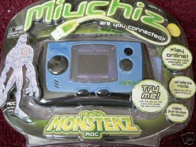 MIUCHIZ ROCK MONSTERZ ROC COLOR HANDHELD GAME