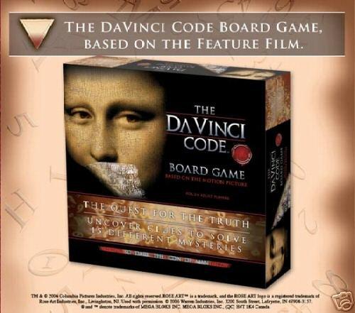 Da Vinci Code Board Game The Quest for the Truth SMART GIFT