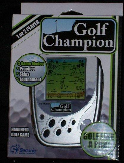 Handheld Golf Champion Game!!