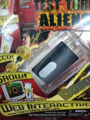 ELECTRONIC TEST TUBE ALIENS DODEC WEB INTERACTIVE NEW