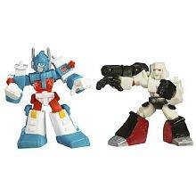 TransFormers Movie Robot Ultra Magnus vs Megatron