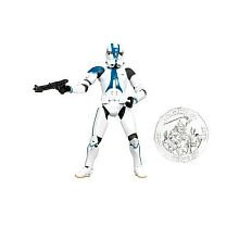 Star Wars Saga Legends - 501st Legion Trooper with Exclusive Collector Coin