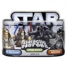 Star Wars Galactic Heroes 2-Pack Figures: Darth and Obi-Wan