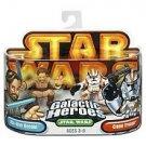 Star Wars Galactic Heroes OBI-Wan Kenobi & Clone Trooper