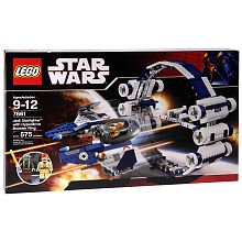 LEGO Stars Wars Jedi Starfighter with Hyperdrive Booster Ring (7661)