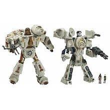 Star Wars Transformers Millennium Falcon w/Han Solo & Chewbacca