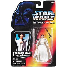 Star Wars Power of the Force 2 Red Card Leia Organa