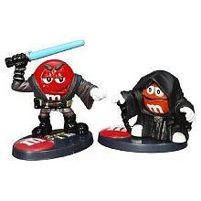 Star Wars Chocolate M Pire Orange Character as Emperor Palpatine & Red Character as Anakin Skywalker