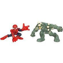 Spider-Man Superhero Squad Spider-Man vs Rhino