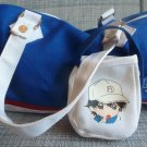 Prince of Tennis Bag Tote Blue White Echizen Takeshi Konomi Tenisu no Ojisama
