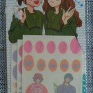 RARE Marmalade Boy Manicure Stickers Seals 1995 Shueisha Ribon Magazine
