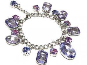 Beautiful Crystal Dangle Bracelet