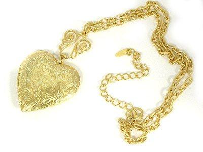 Casting Heart Locket Necklace