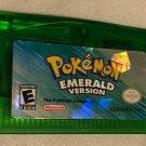 Pokemon Emerald Version GBA Nintendo Game Boy Advance Authentic