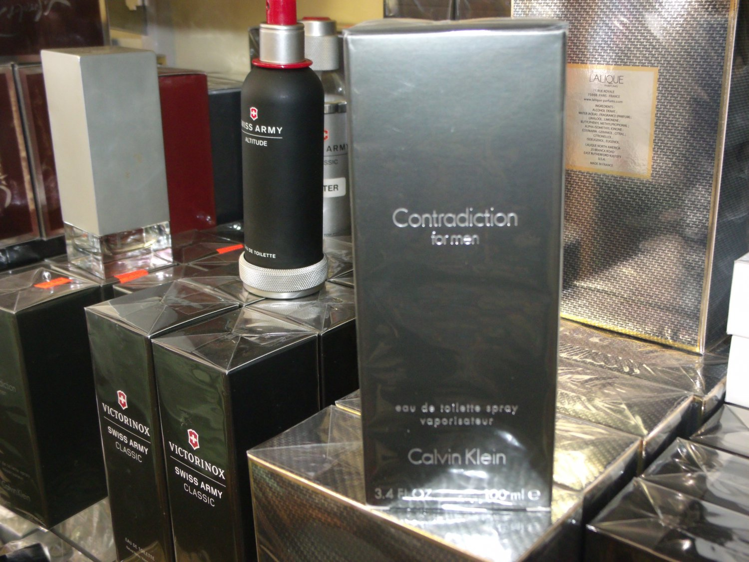 Contradiction By Calvin Klein 3.4 Fl.Oz EDT 100 ml for men