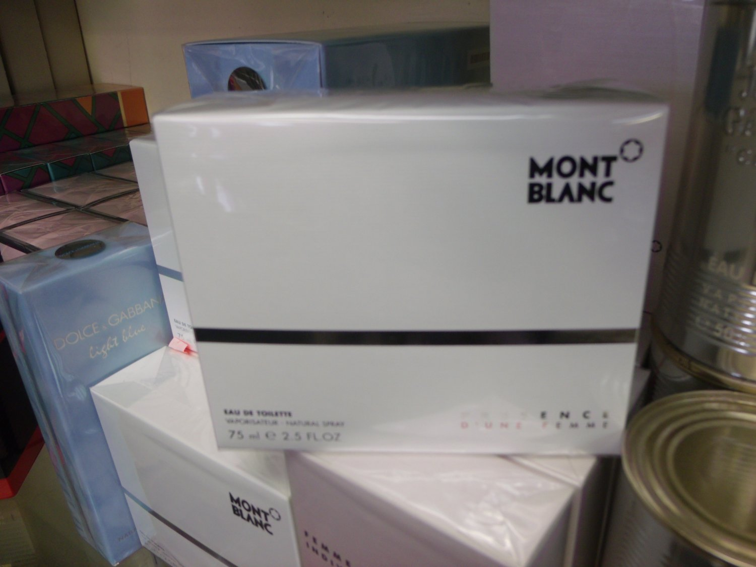 Mont Blanc Presence EDT 2.5 fl oz 75 ml for Women Retail $ 75.00 Our Price $ 54.99 Save 32%
