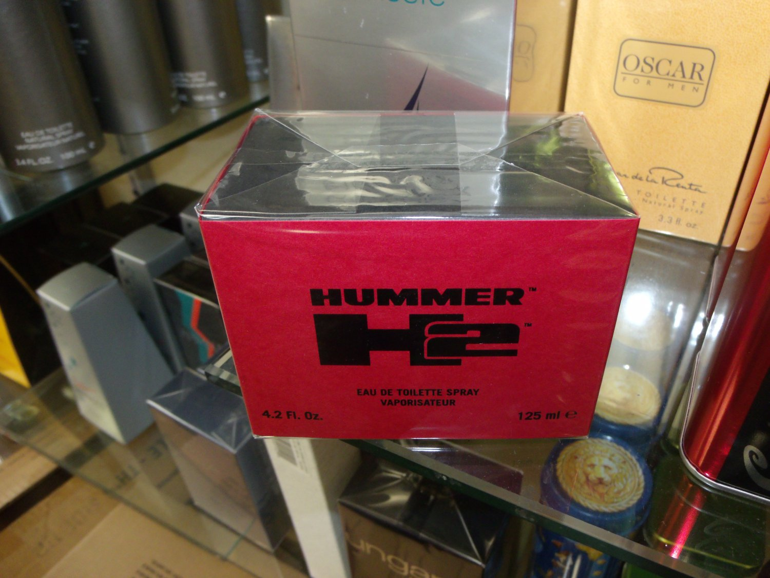 Hummer H2 by hummer 4.2 Fl.Oz EDT 125 ml for men Retail $ 54.00 Our Price $ 34.99 Save 35 %