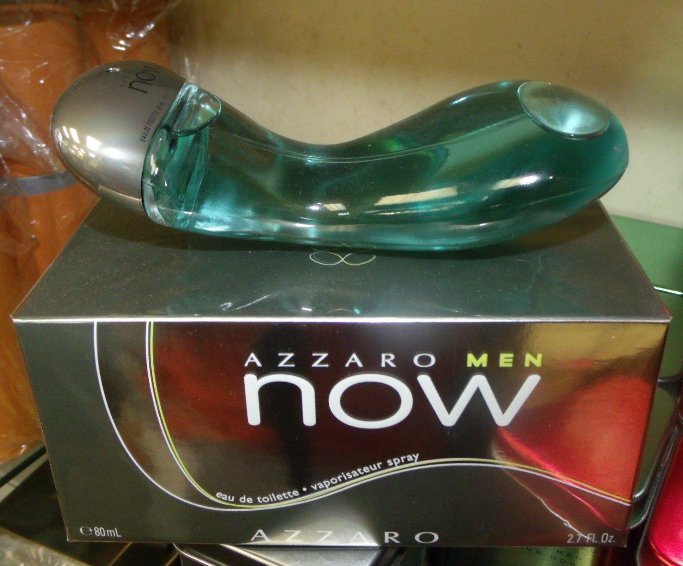 AZZARO NOW  By AZZARO EDT Spray 2.7 oz 80 ml for men