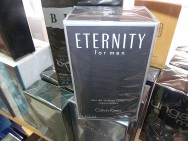 Eternity by Calvin Klein  3.3 Fl.Oz EDT 100 ml for men Retail $ 67.00 Our Price $ 49.99 Save 25 %