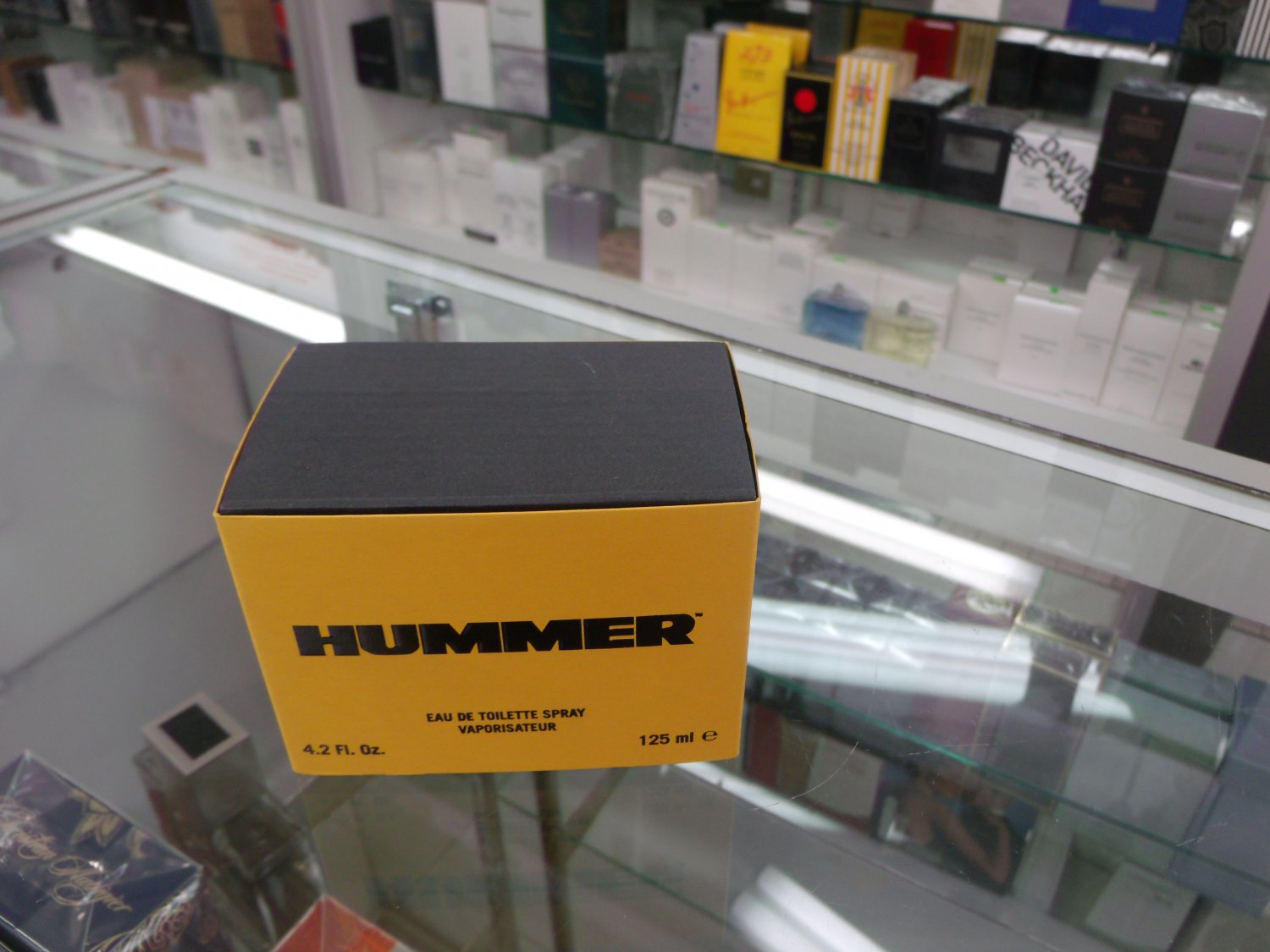 Hummer by Hummer 4.2 Fl.Oz EDT 125 ml for men Retail  $ 54.00 Our Price $ 34.99 Save 35 %